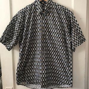 Vintage Alexander Martin Checkered Golf Shirt